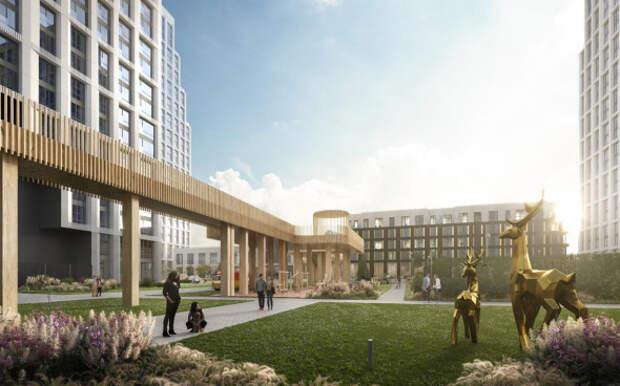 Стала известна сумма инвестиций в инфраструктуру эко-квартала в Марфине