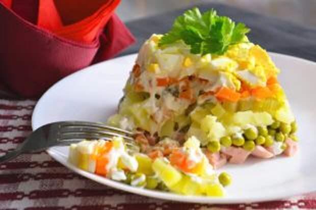 «Оливье» в картошке. Новые идеи для самого главного новогоднего салата