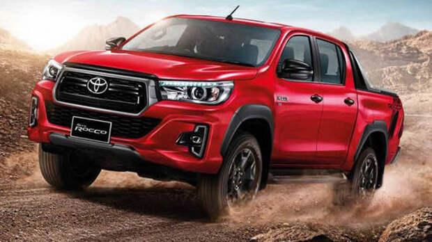 Toyota Hilux: теперь в стиле американских пикапов