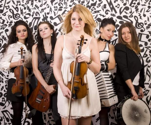 OTTA-orchestra. Браво, девчонки!