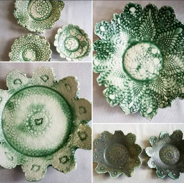 Вязаная керамика от IG @janellepetersonartist