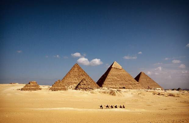 Пирамиды Земли