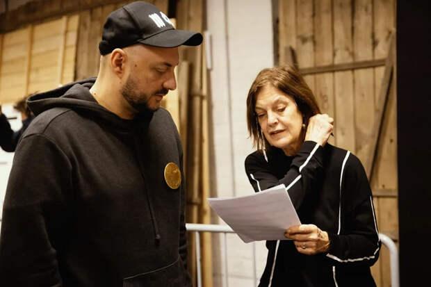Кирилл Серебренников и Ангела Винклер