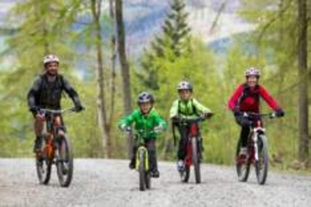 На горных велосипедах всей семьей — Три правила комфортного отдыха