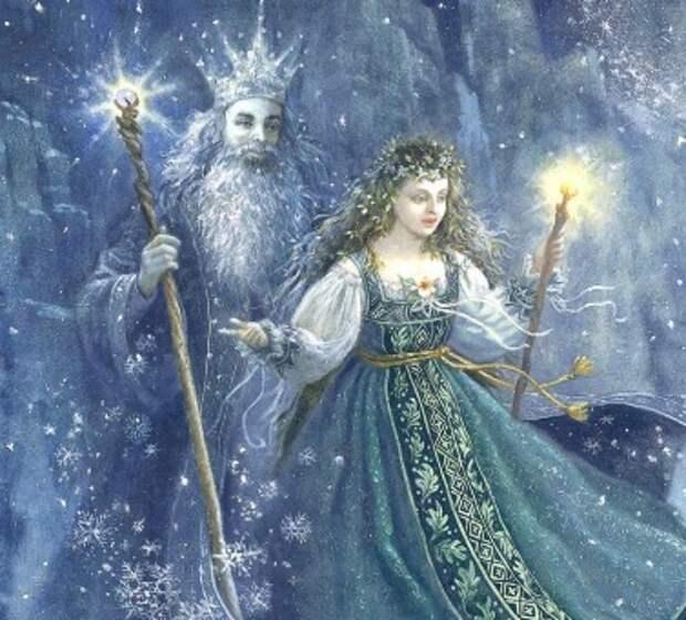 Боги древних славян. Дед Мороз