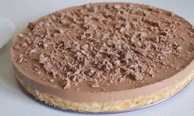 Шоколадно-банановый торт без выпечки. Нежное и ароматное лакомство 2