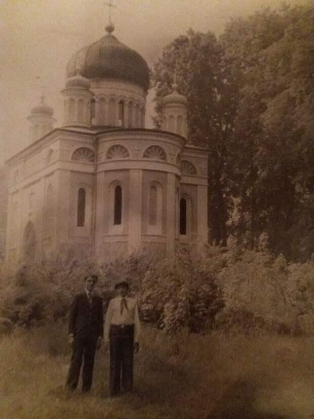 Александро-Невская церковь в Потсдаме, 70-е гг.