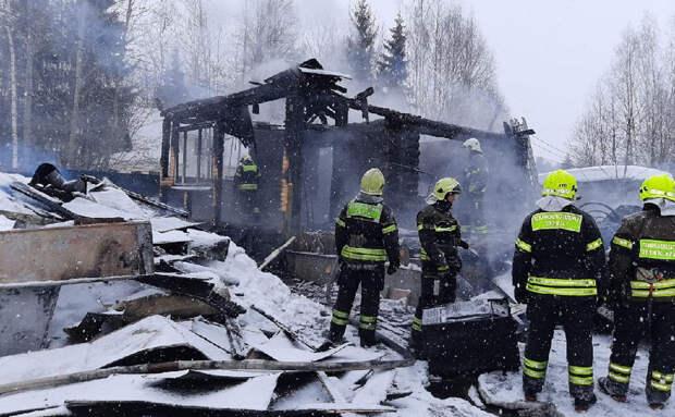 Пятилетний ребенок погиб при пожаре в Новой Москве