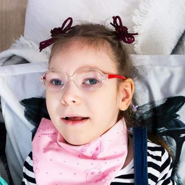 Арина Мехоношина, 9 лет, детский церебральный паралич, эпилепсия, требуется лечение, 197498₽