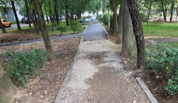 На бульваре Яна Райниса обновят асфальт и заменят детскую площадку