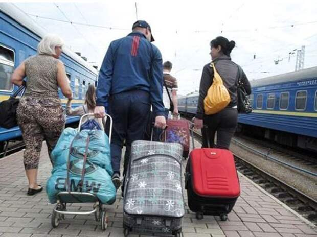 Великое переселение украинцев с Украины
