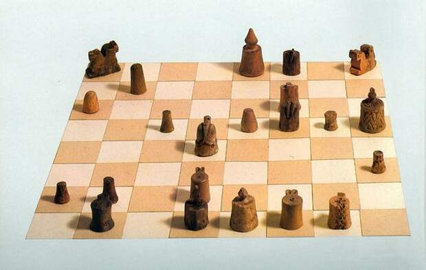Шахматы на Руси.