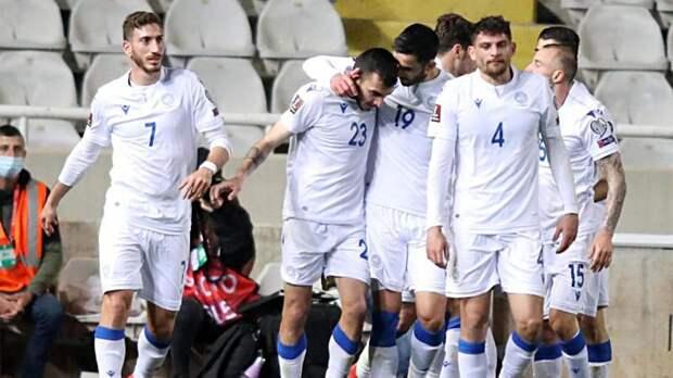 Словения проиграла Кипру в квалификации ЧМ-2022