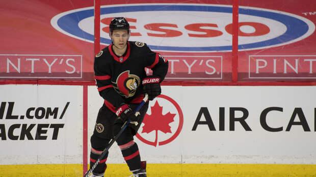 Зуб продлил контракт с клубом НХЛ «Оттава»