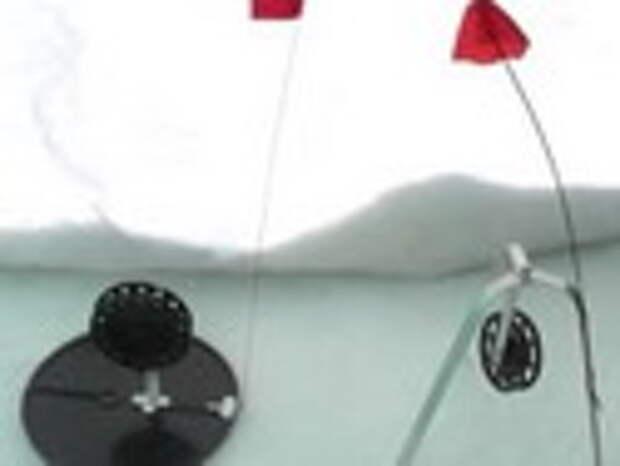 Зимняя жерлица и варианты крепления живца  (видео)