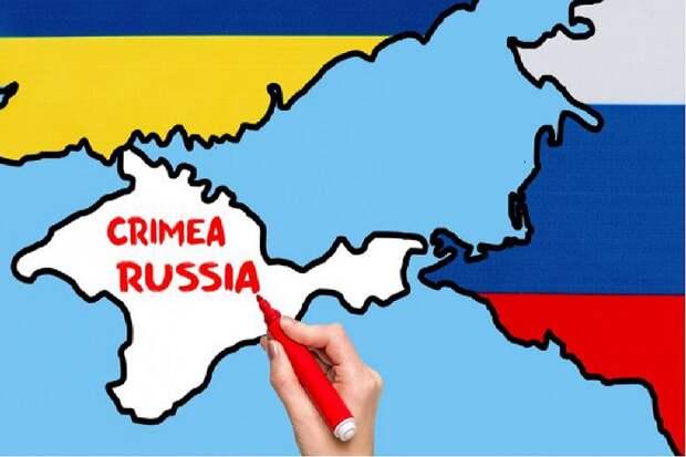 Украина возмутилась российским Крымом на испанской карте