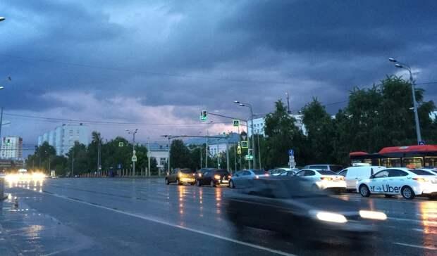 Татарстанцев ожидает гроза