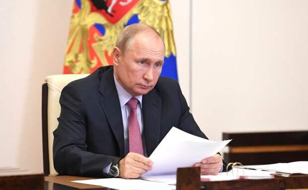 Путин в 2019 году заработал 9,7 млн рублей