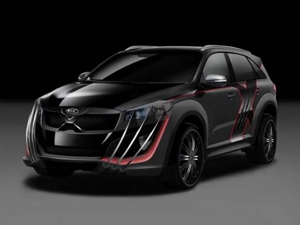 Новый Kia Sorento превратился в X-Car
