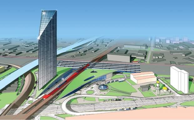 В составе ТПУ «Рязанская» в Москве построят большой бизнес-центр