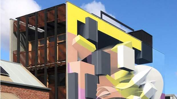 6 потрясающих фото 3D граффити на домах