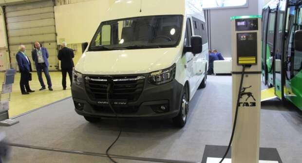 ГАЗ анонсировал первый серийный автомобиль серии E-NN