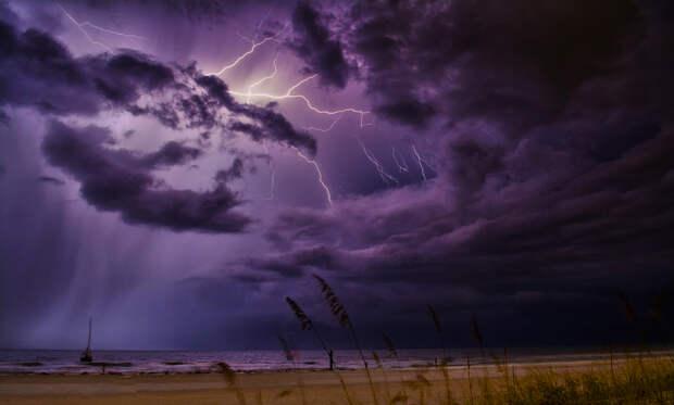 Погода в Крыму: надвигается буря - буйство стихии продолжается
