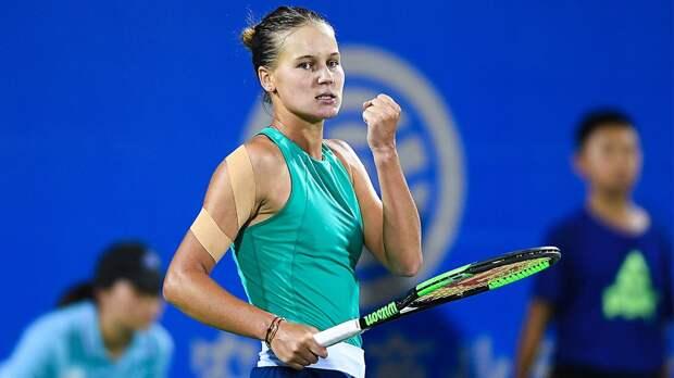 Кудерметова обыграла шестую ракетку мира Плишкову на турнире в Остраве