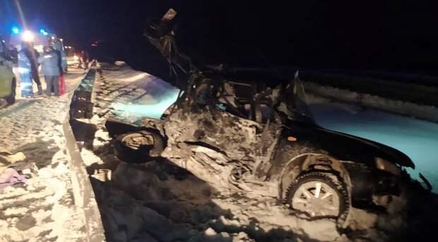 Двое детей погибли в результате ДТП на трассе в Удмуртии