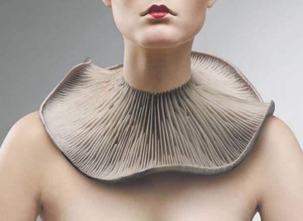 Совершенно потрясающие ожерелья: Гриб..