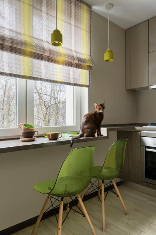Как правильно: 5 способов обыграть подоконник на кухне