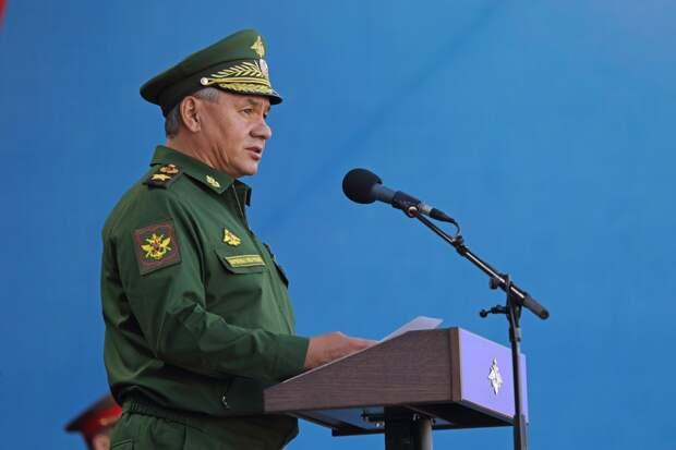 Шойгу отметил заслугу военных России в снятии водной блокады Крыма