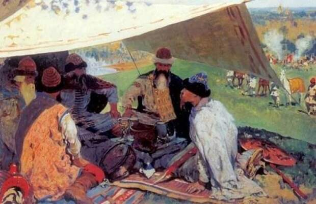 Стародавняя Русь в картинах художника Сергея Иванова.