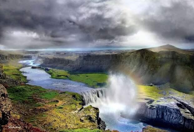 waterfalls14 Красоты водопадов Исландии в фотографиях