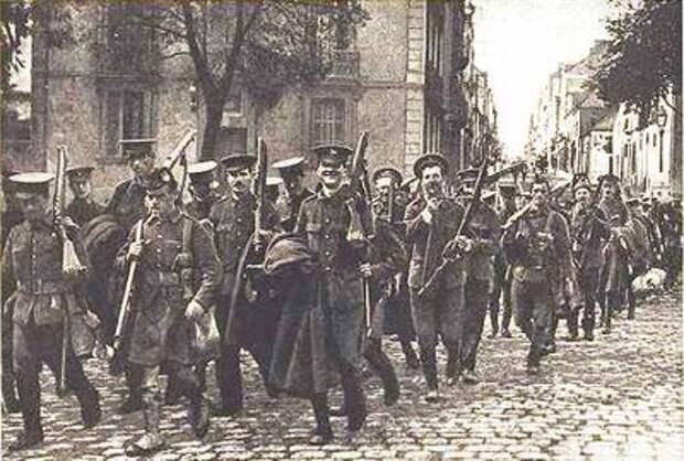 Британские солдаты во Франции