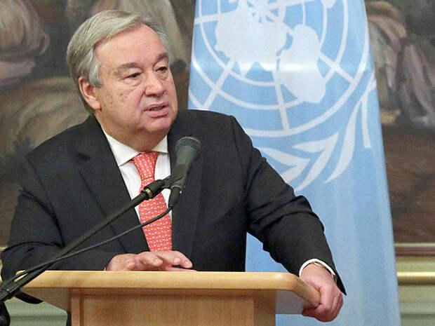 Генсек ООН призвал к немедленной деэскалации в секторе Газа