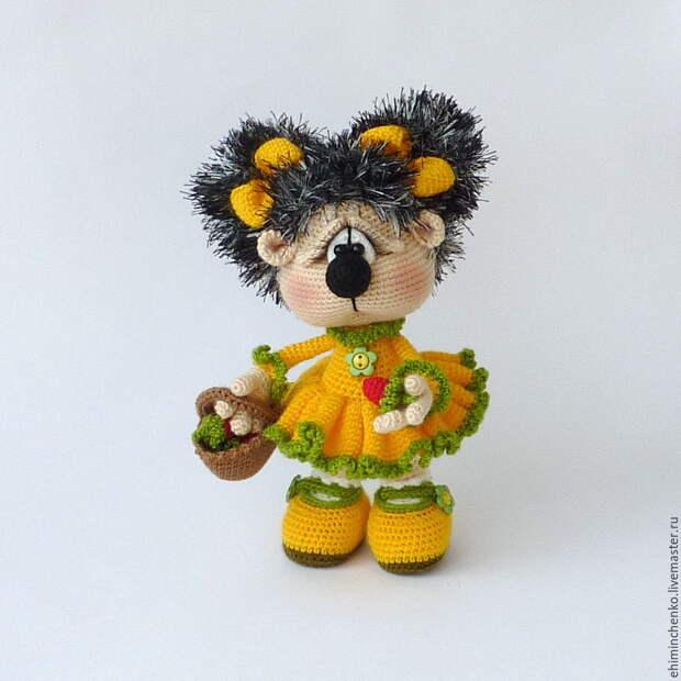 Прелестные вязаные игрушки от Елены Химинченко