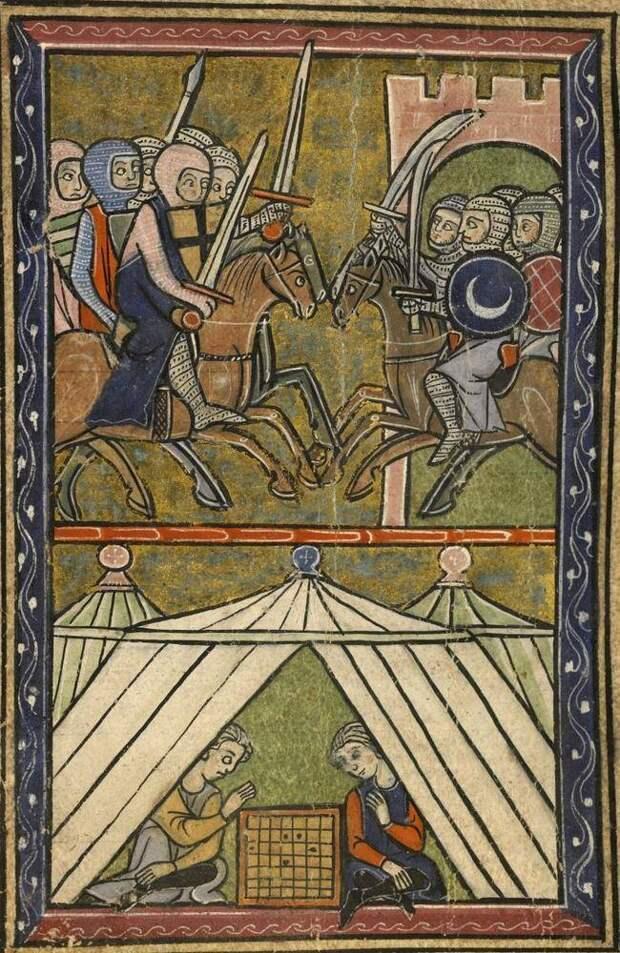 Рыцари и рыцарство трёх веков. Рыцари Аутремера