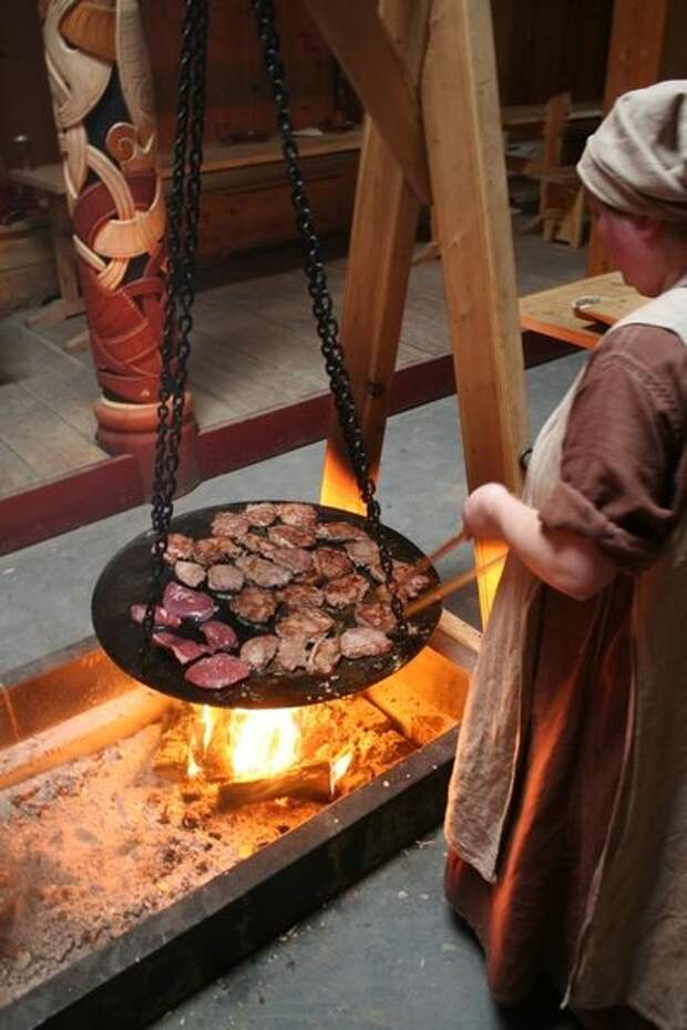 Кухня эпохи викингов 9 - 11 веков