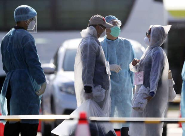 В Токио – рекордный прирост заболеваний коронавирусом, превышение на 300 случаев за сутки. Допротестовались?