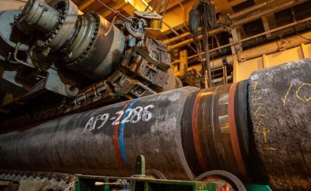 «Газпром» планирует запустить «Северный поток— 2» вэтом году