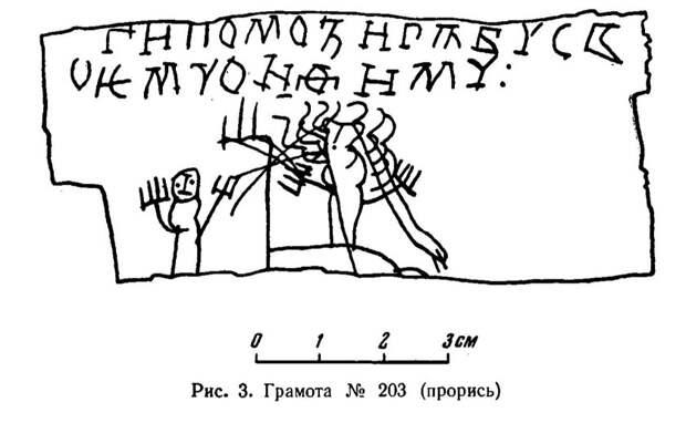 Арциховский А.В. БЕРЕСТЯНЫЕ ГРАМОТЫ МАЛЬЧИКА ОНФИМА