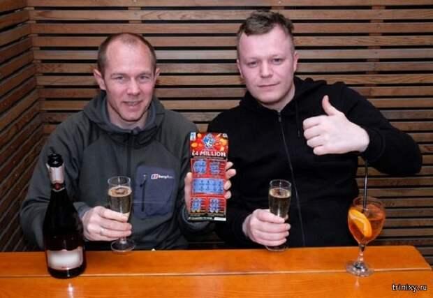 Выиграли 4 миллиона фунтов в лотерею но деньги вряд ли получат(2 фото)
