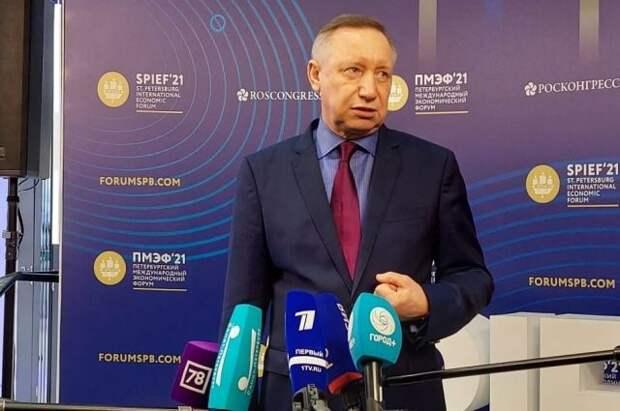Петербург заключил на ПМЭФ контракты на 200 млрд рублей