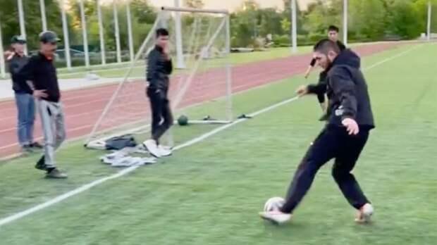 Роналдо восхитился красивым голом Хабиба в товарищеском футбольном матче: видео