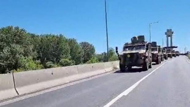 Восемь конвоев НАТО прибыли в Румынию для участия в военных учениях