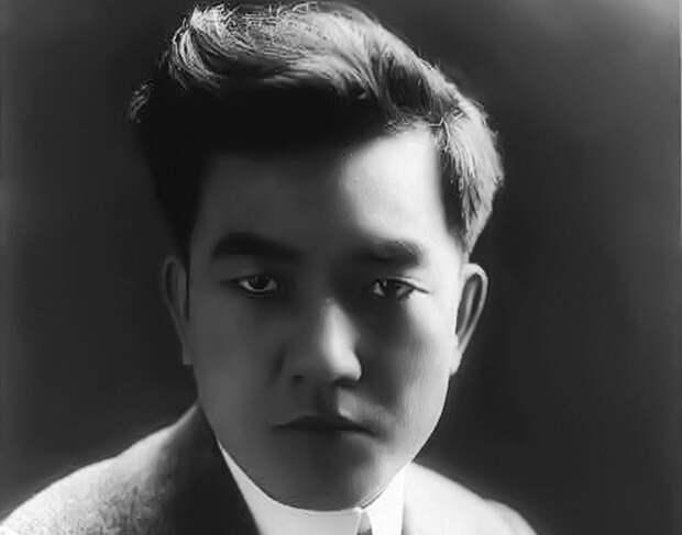 Сэссю Хаякава в 1918 году. /фото:thevintagenews.com