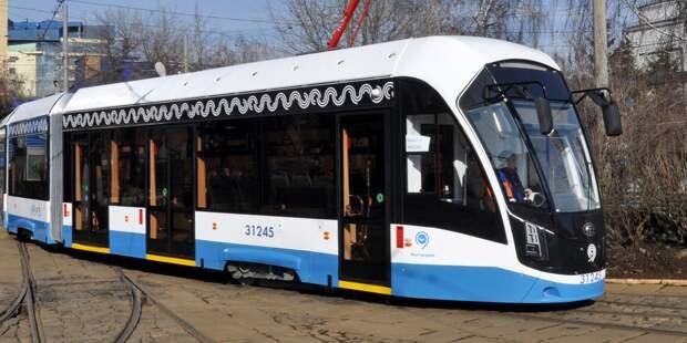 В проезде Дежнёва не будут закрывать движение трамваев на время ремонта путей