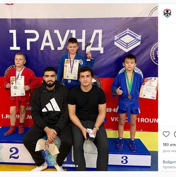 Самбисты из Кузьминок завоевали два золота на турнире в честь Дня учителя