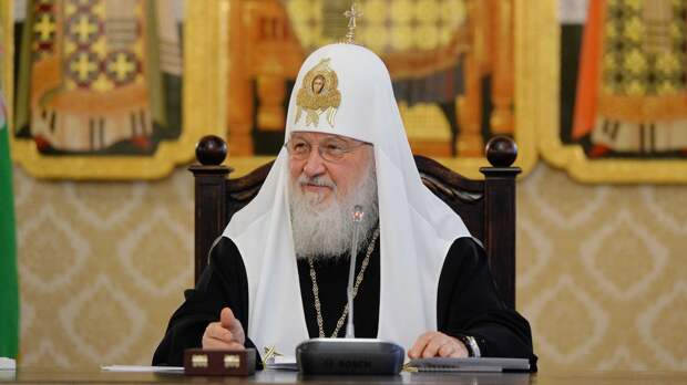Патриарх Кирилл пожелал Путину благословенных успехов и здоровья в День России